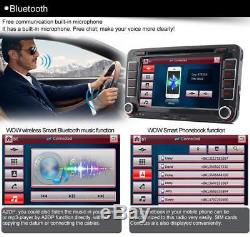 7 VW Passat Transporter T5 Golf MK5 MK6 Jetta Car Stereo Radio DVD Sat Nav GPS