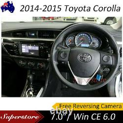 7 inch TOYOTA Corolla Seden Car DVD GPS Stereo Player Head Unit 2014-2015
