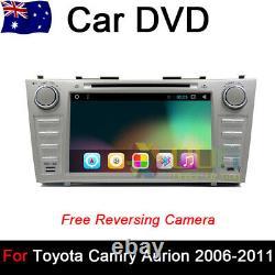 8.0 Car DVD GPS Player Navigation Head Unit For Toyota CAMRY Aurion 2006-2011