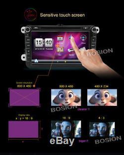 8''Car DVD Player GPS Navigation For VW GOLF 5 6 PASSAT Tiguan Touran Caddy Polo