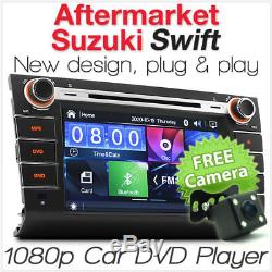 8 Car DVD USB MP3 Player For Suzuki Swift Head Unit Stereo Radio Audio CD ET