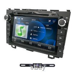 8 Car GPS DVD Player BT Radio RDS for Honda CR-V CRV 2008 2009 2010 2011 Cam