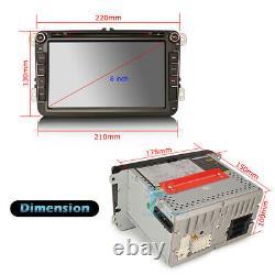 8 Doppel Din Car DVD CD Player GPS Autoradio Sat Nav für VW PASSAT CC B6 B7 EOS