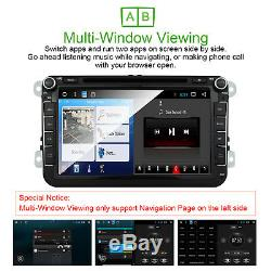 8 VW Golf MK5/MK6 SKODA SEAT Android 8.1 Car Head Unit GPS Sat-Nav DAB+ RDS SWC