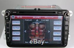 8 inch Car DVD Player GPS For Volkswagen VW EOS TRANSPORTER TOURAN BORA CADDY