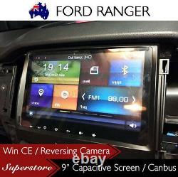 9 Car DVD GPS Player Navigation for Ford Ranger XL, XLT, XLS, XL-HI 2015-2017