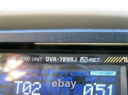 ALPINE DVA-7899J PXA-H700 DVD Player Car Stereo Audio From Japan F/S