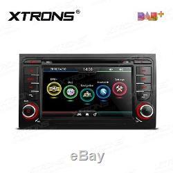 AUDI A4 S4 RS4 Stereo In Dash 2 DIN Car DVD Player GPS Sat-Nav DAB+ Radio USB SD