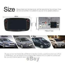 A-Sure 7 Ford Mondeo Focus S-max Galaxy Car DVD Player Radio GPS Stereo BT DAB+