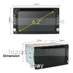 Android 10.0 4G WiFi Double 2DIN Car Radio Stereo DVD Player GPS Navi +Camera