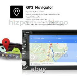 Android 10.0 Car GPS In-Dash HD Stereo Radio 2DIN FM CD DVD Player Wifi 4G BT US