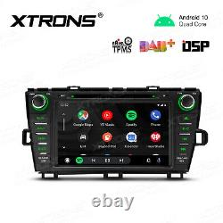 Android 10.0 Car Radio DVD Player Stereo GPS DAB+ DSP for Toyota Prius 2009-2013