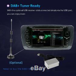 Android 10.0 Car Stereo For SEAT IBIZA DVD Player GPS Sat Nav Radio DAB+ BT WIFI