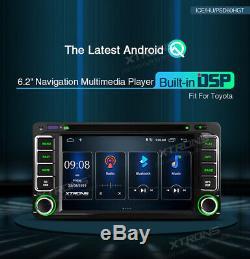 Android 10.0 DAB OBD2 GPS Sat Nav Car DVD Player Stereo for Toyota RAV4 Alphard