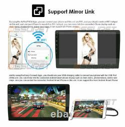 Android 10 10.1 Inch Car Stereo Radio No-DVD Player In Dash Car GPS Navi Wifi FM
