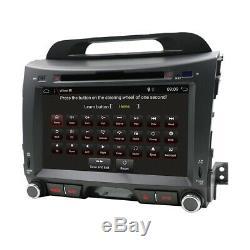 Android 10 Stereo Car Radio for Kia Sportage R Navi GPS Bluetooth WIFI DVD DAB+