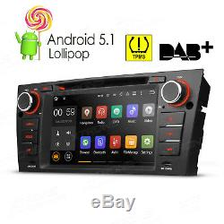Android 5.1 Car GPS Headunit DVD Player Sat Nav Stereo Radio for BMW E90 E91 E92