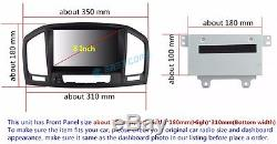 Android 5.1 Quad Core Car Stereo DVD GPS Navigation For Opel Vauxhall Insignia