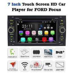 Android 6.0 Car DVD GPS SatNav DAB+ Stereo Ford Focus Fiesta Transit Kuga SC-Max