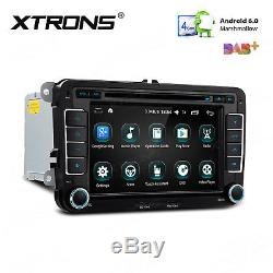 Android 6.0 Dash Car Stereo DVD Player GPS for VW Polo Golf Caddy Passat Seat