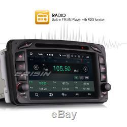 Android 7.1 GPS Car Stereo Sat Nav DAB+Mercedes Benz C/CLK W203 W209 Viano Vito