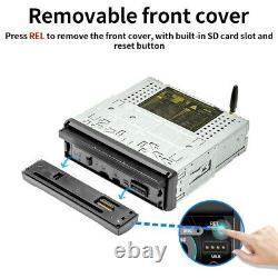 Android 8.0 Car Radio 1DIN 7 Stereo WiFi Bluetooth GPS Navi MP5 CD DVD Player