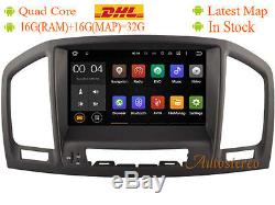 Android 8.1 Car DVD Player Radio GPS for Opel / Vauxhall / Holden Insignia Brown