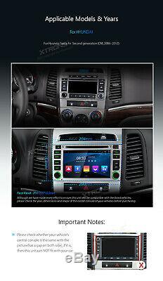 Android 8.1 Car DVD Player Stereo DAB GPS SAT NAV for Hyundai Santa Fe 2006-2012