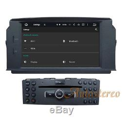 Android 8.1 Car DVD Stereo Radio Unit For MERCEDES-BENZ C klasse w204 2007-2011
