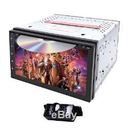 Android 8.1 OS 2 Din 7 Inch Car DVD Player GPS Sat Nav BT Radio USB SD Stereo