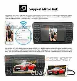 Android 9.0 Car DVD Player Radio GPS 7 Stereo fit Mercedes Benz ML-W164 GL-X164