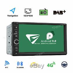 Android 9.0 Double 2Din 7 HD Quad-Core Car Stereo Radio GPS Navigator OBD2 OBD2