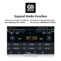 Android 9.0 GPS Sat-Nav Car DVD Player DAB+ Radio Ford Mondeo Focus S-Max Black