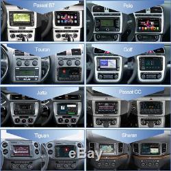 Android 9.0 Head Unit Car DVD SAT NAV BT For VW Golf MK5 Jetta Caddy Seat Passat