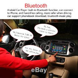 Android Wifi GPS Nav Car In Dash USB/SD/AUX/MP3/CD DVD Player 6.5 Double DIN FM