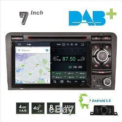 Audi A3 2003-2013 Car DAB+ Radio Stereo DVD Player GPS Sat Nav Bluetooth CANBUS