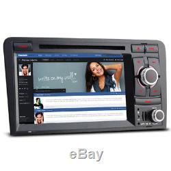 Audi A3 2003-2013 Car Radio Stereo DVD Player GPS Sat Nav S3 RS3 RNSE-PU