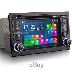 Audi A4 Car Stereo Head Unit Satnav Radio RDS Bluetooth DVR USB SD Canbus 7378GB