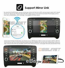 Audi TT MK2 2006-2014 HeadUnit Car Stereo DVD Player Radio GPS Sat Nav Bluetooth