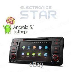 BMW E46 M3 Stereo 7 Android 5.1 GPS Sat-Nav Car DVD Player Radio DAB+ WiFi OBD2