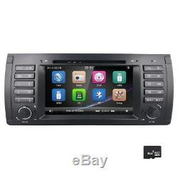 BMW X5 E53 7 CD DVD Player GPS Navigation Car Stereo Radio Bluetooth RDS