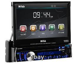 BOSS Audio BV9986BI Car DVD, Bluetooth, 7 Touchscreen, Multi-color Illumination