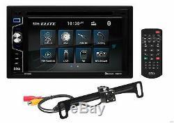 BOSS Audio Elite BV755BLC Car DVD Player + Backup Camera, Bluetooth, Touchscreen