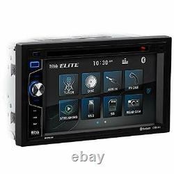 BOSS Audio Elite BV755B Car DVD Player Bluetooth, 6.2 Touchscreen, DVD/USB/SD