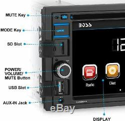 Boss Audio Systems BV9364B Car Stereo DVD Player, Double Din, New, Free Shipping