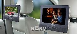 Bush 7 Inch Twin In Car DVD Player