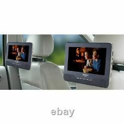 Bush 9 Inch Dual Screen In Car DVD Player Free 90 Day Guarantee