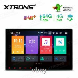 CAM+ Double DIN 10.1 Android 9.0 8-Core 4+64GB Car DVD Player Radio Stereo GPS