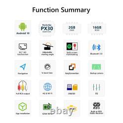 CAM+OBD+DVR+ Eonon 10.1 Android 10 2 Din Car Stereo FM Radio GPS DAB+ Bluetooth