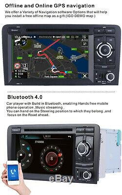 CAR DVD player GPS For Audi A3 2003-2012 S3 2006-2012 RS3 Sportback stereo radio